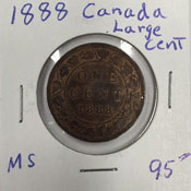 1881 Canada large cent