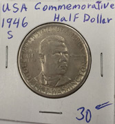 1946 Commemorative half dollar