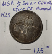 1925 Stone Mountain Memorial half dollar